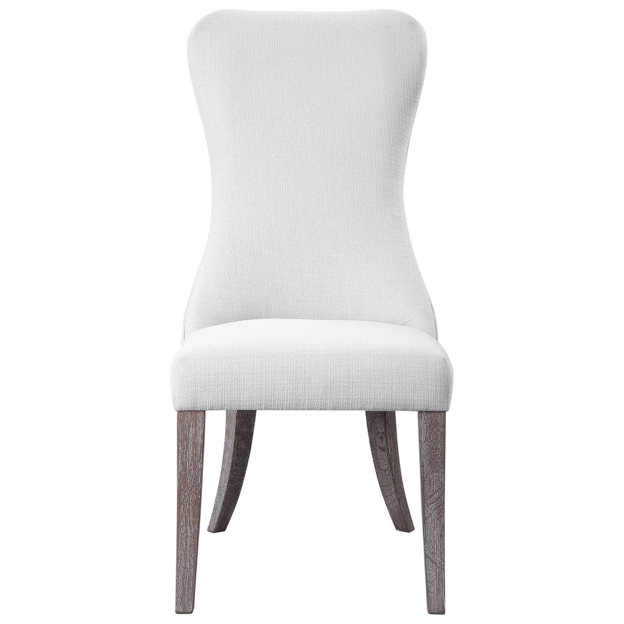 Accent Furniture - Accent Chairs Caledonia Armless Chair by Uttermost at Del Sol Furniture