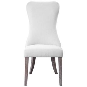 Caledonia Armless Chair
