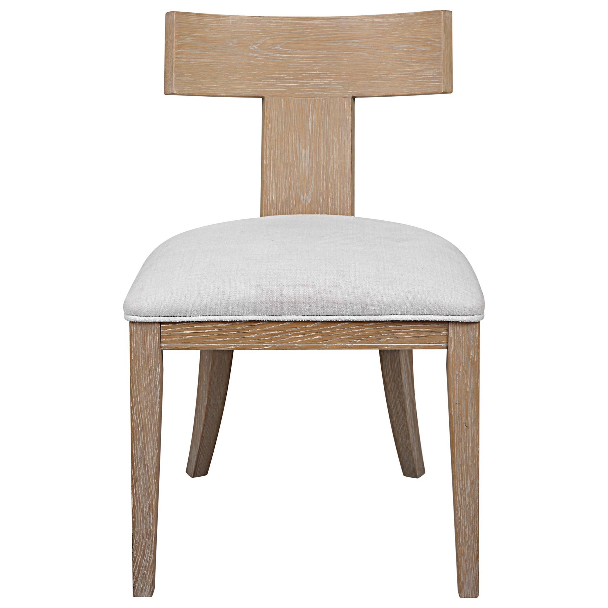 Accent Furniture - Accent Chairs Idris Armless Chair Natural by Uttermost at Mueller Furniture