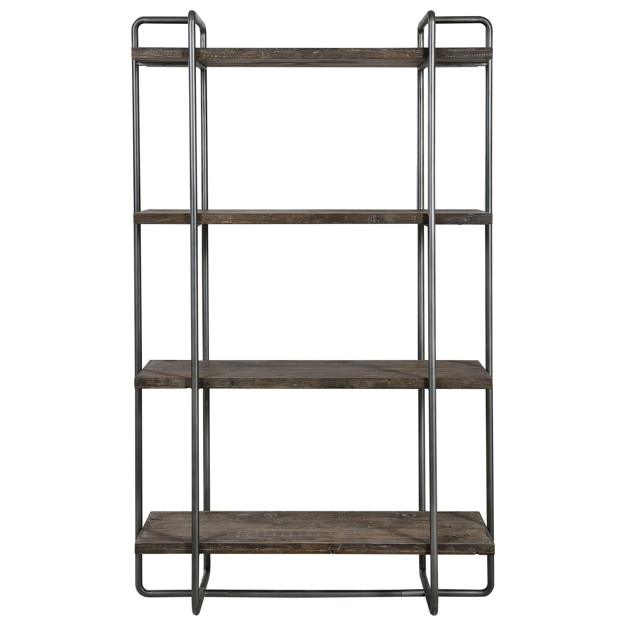 Accent Furniture - Bookcases Stilo Urban Industrial Etagere by Uttermost at Upper Room Home Furnishings
