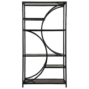 Black Iron Etagere
