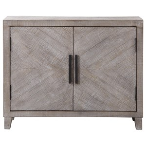 Adalind White Washed Accent Cabine