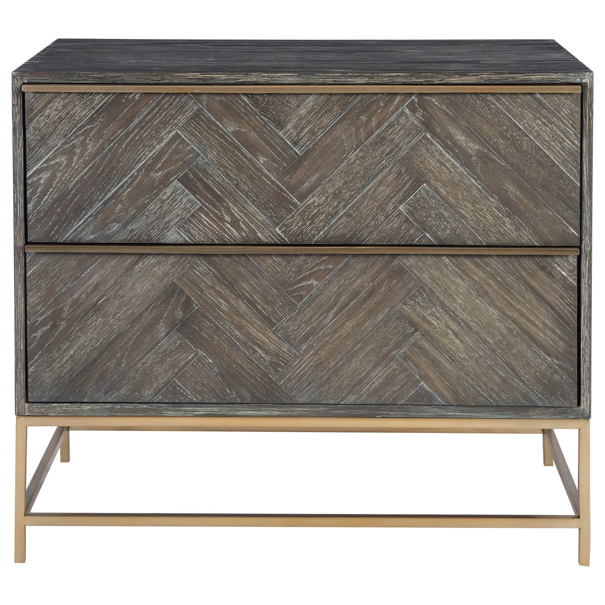 Accent Furniture - Chests Armistead Dark Walnut Drawer Chest by Uttermost at Factory Direct Furniture