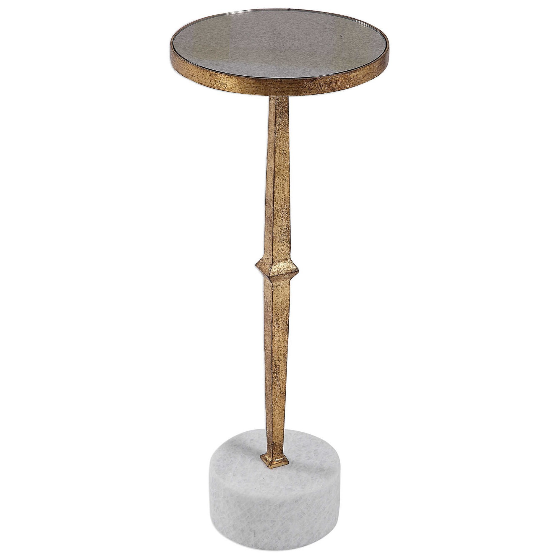 Accent Furniture - Occasional Tables Miriam Round Accent Table by Uttermost at Factory Direct Furniture