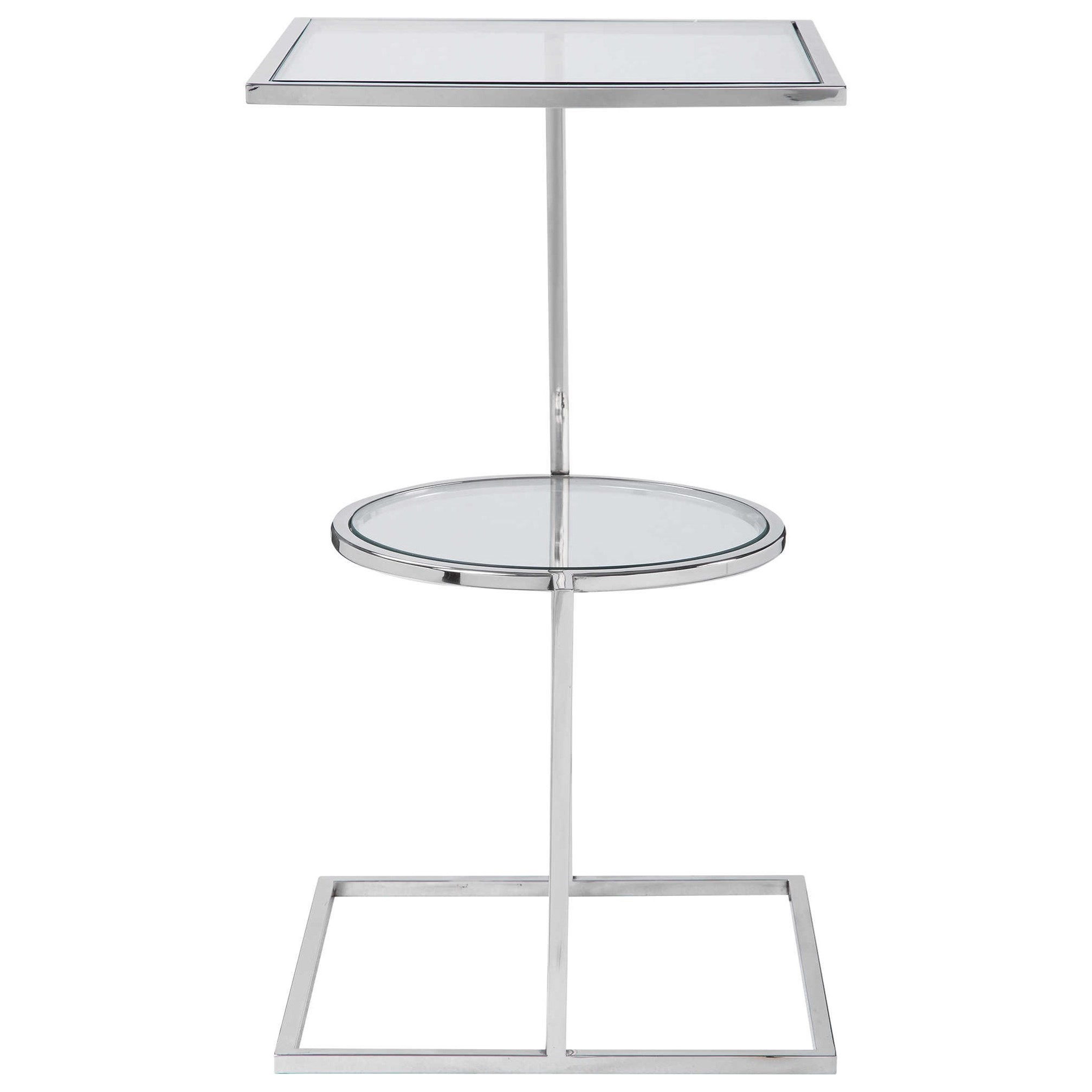 Accent Furniture - Occasional Tables Kirby Modern Accent Table by Uttermost at Upper Room Home Furnishings