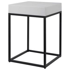 Gambia Marble Accent Table