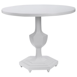 Kabarda White Foyer Table