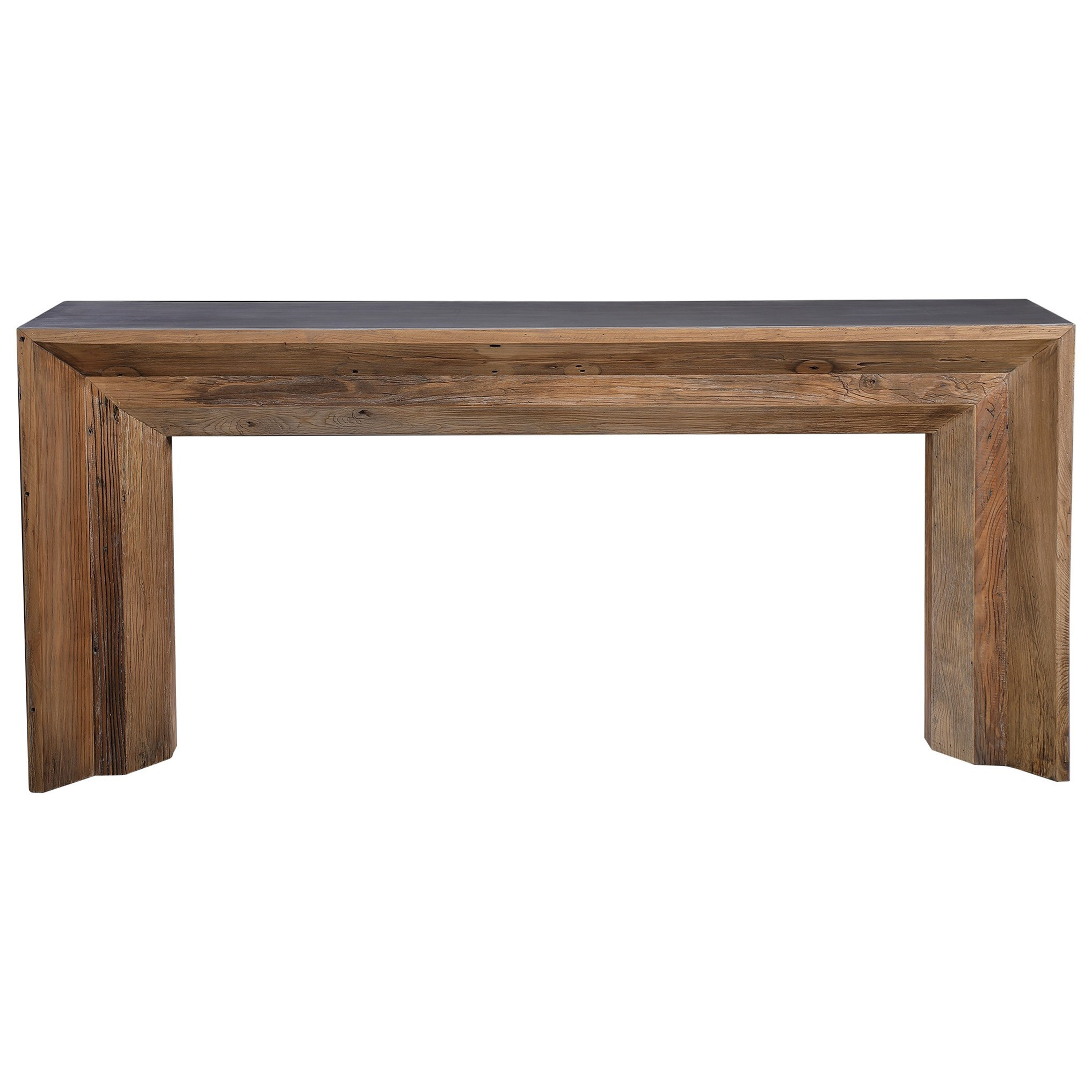 Accent Furniture - Occasional Tables Vail Reclaimed Wood Console Table by Uttermost at Mueller Furniture