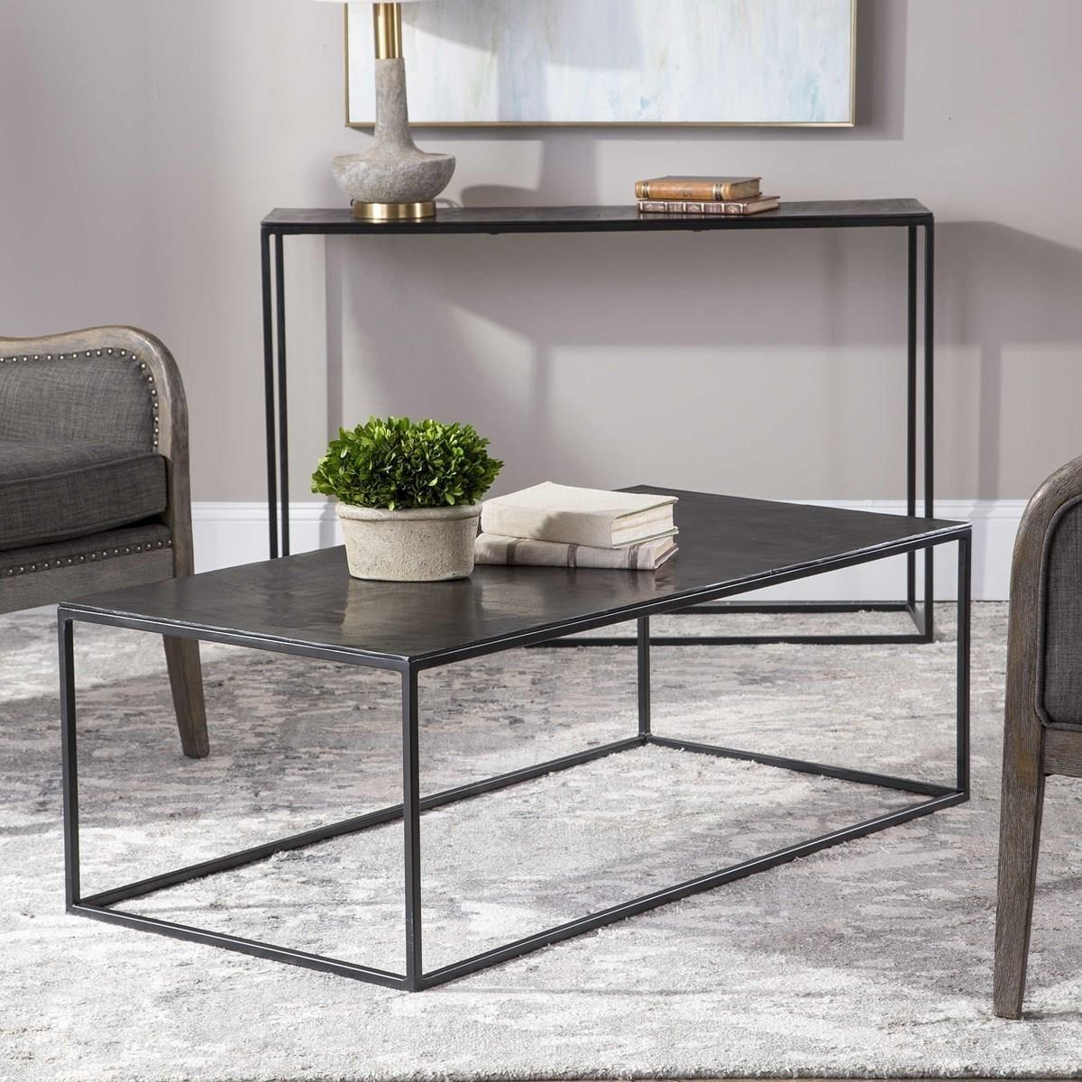 Accent Furniture - Occasional Tables Coreene Industrial Coffee Table by Uttermost at Miller Waldrop Furniture and Decor