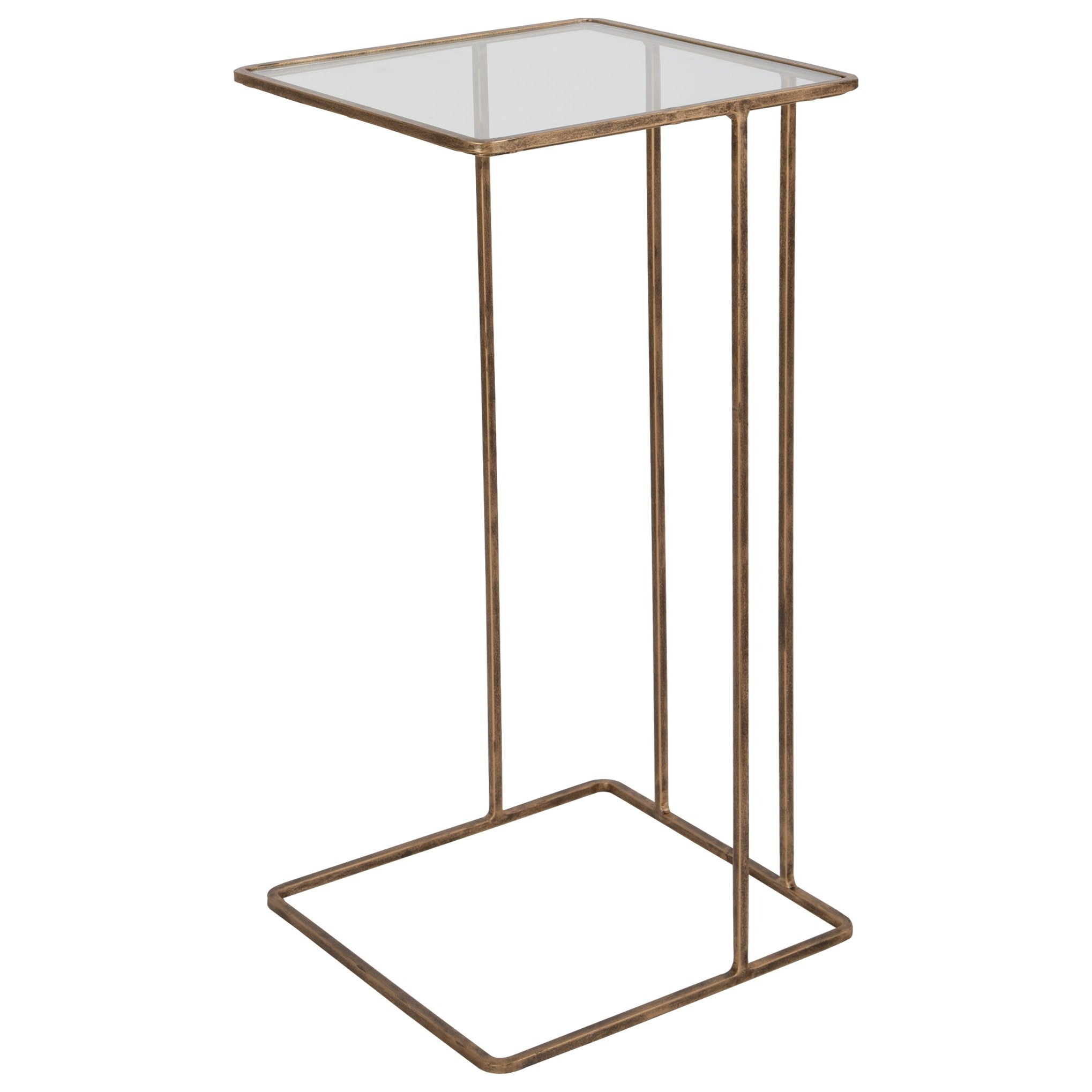 Accent Furniture - Occasional Tables Cadmus Gold Side Table by Uttermost at Upper Room Home Furnishings