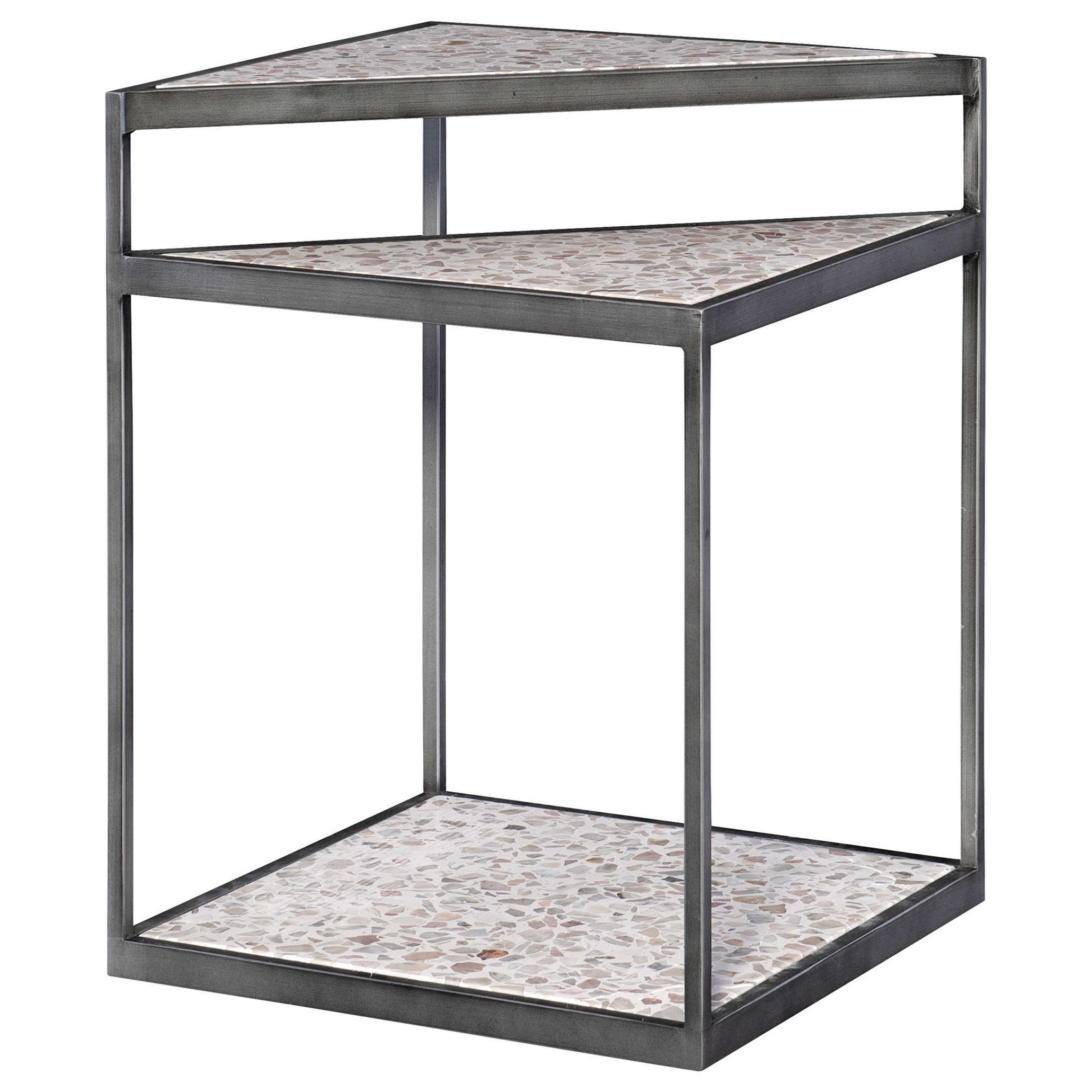 Accent Furniture - Occasional Tables Terra Modern Accent Table by Uttermost at Upper Room Home Furnishings