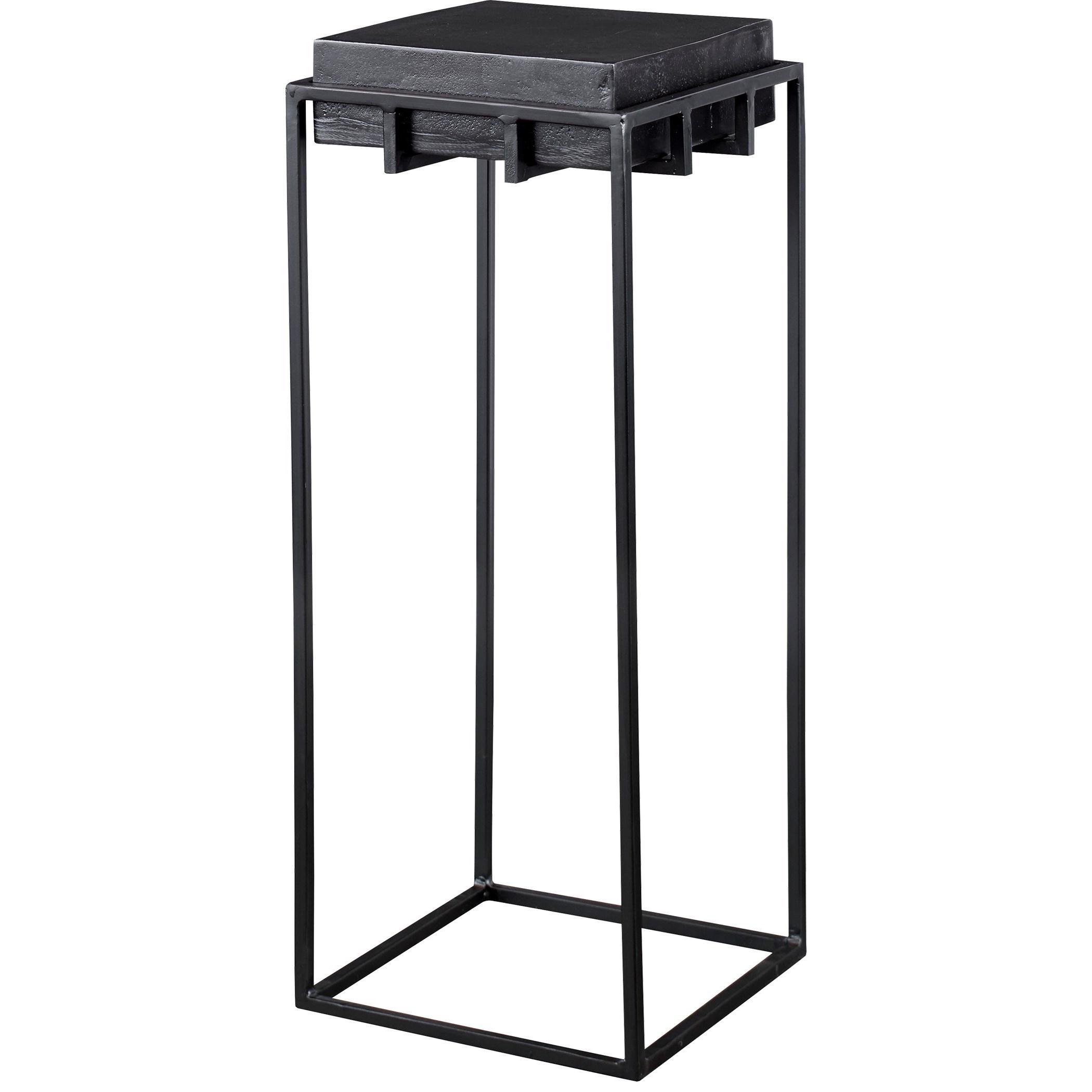 Telone Black Small Pedestal