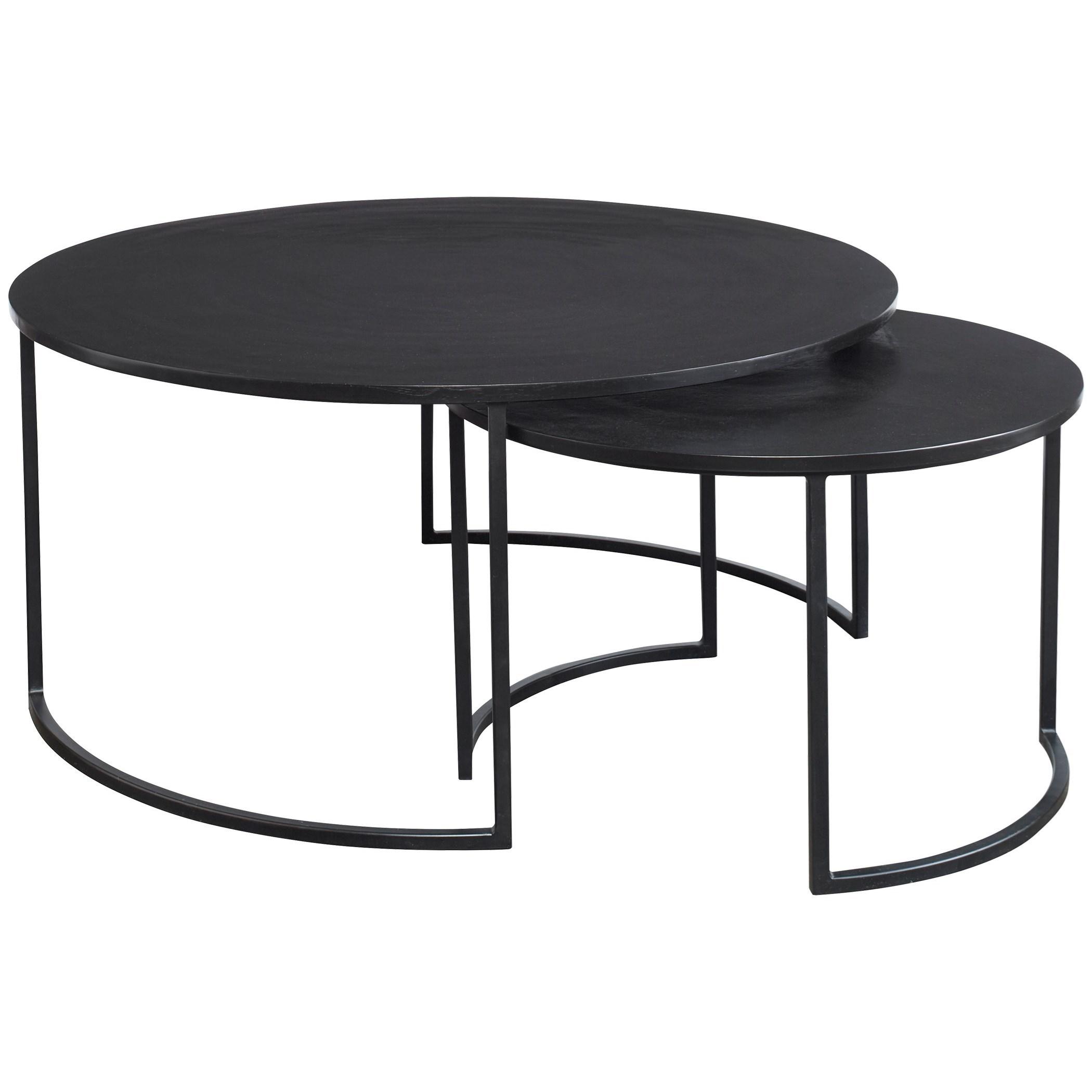 Barnette Modern Nesting Coffee Tables S/2