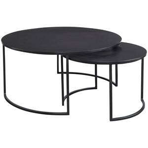 Barnette Modern Nesting Coffee Tables S/2