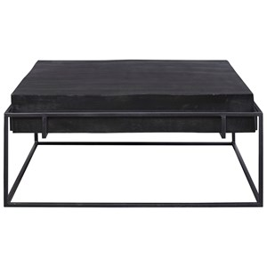 Telone Modern Black Coffee Table