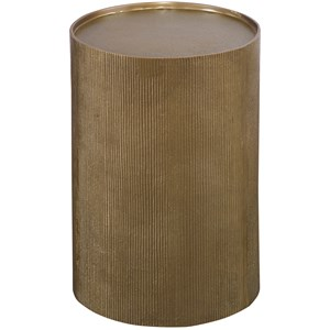 Adrina Drum Accent Table