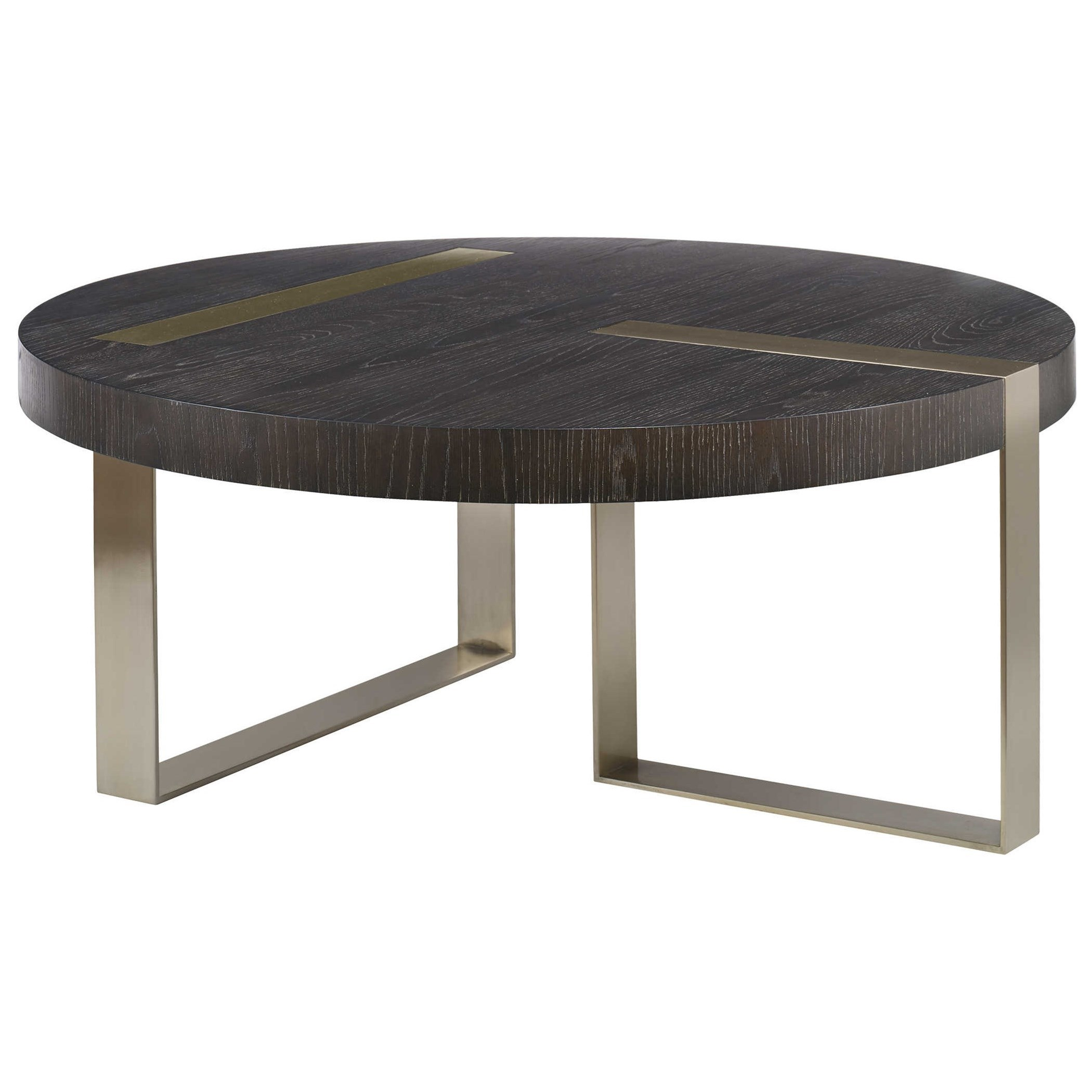 Accent Furniture - Occasional Tables Converge Round Coffee Table by Uttermost at Factory Direct Furniture