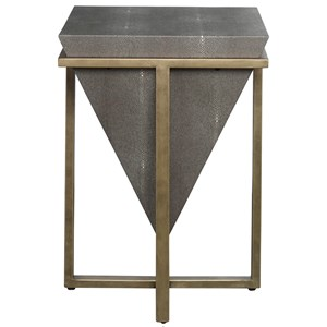 Bertrand Shagreen Accent Table