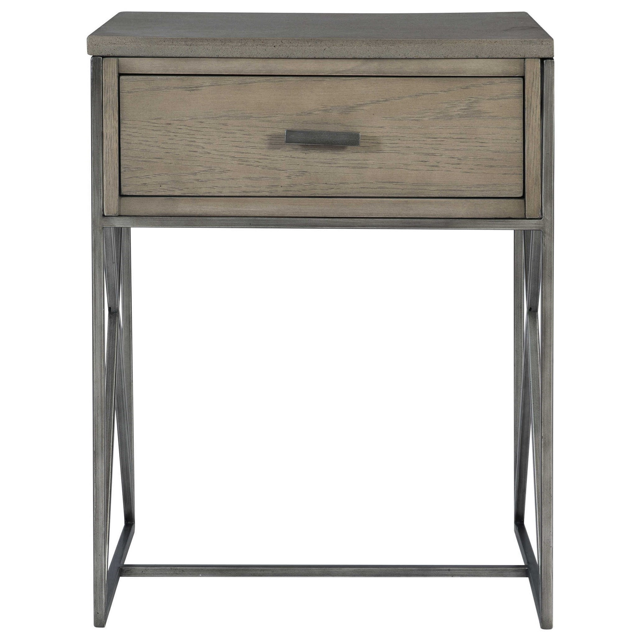 Accent Furniture - Occasional Tables Cartwright Gray Side Table by Uttermost at Suburban Furniture