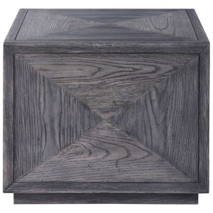 Curtley Wooden Cube Table