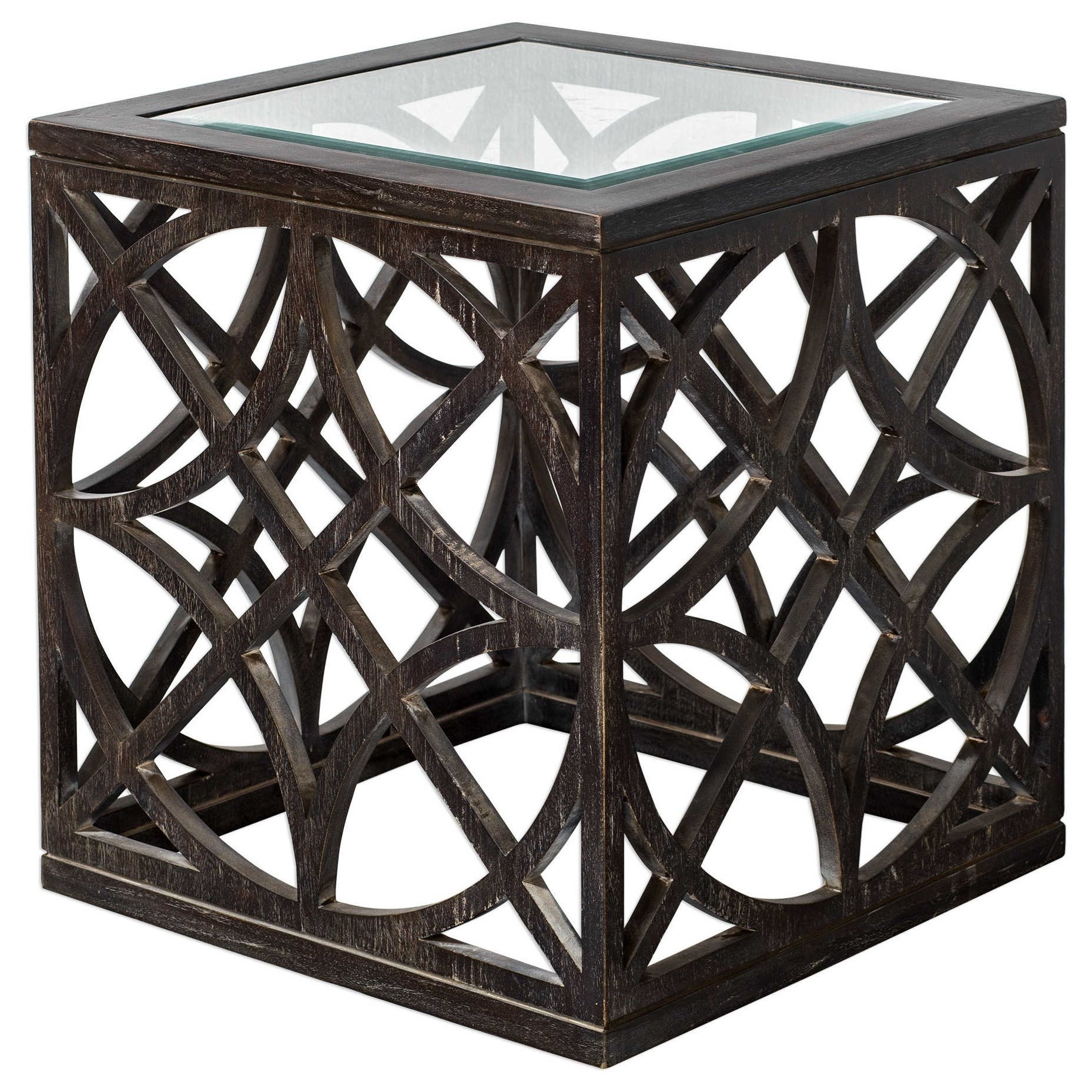 Accent Furniture - Occasional Tables Janeva Side Table by Uttermost at O'Dunk & O'Bright Furniture
