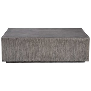 Kareem Modern Gray Coffee Table