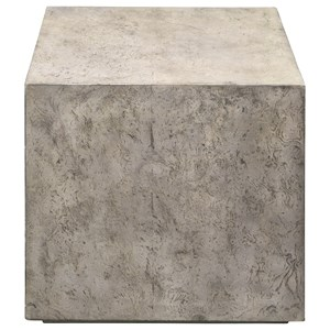 Kioni Gray Cube Table