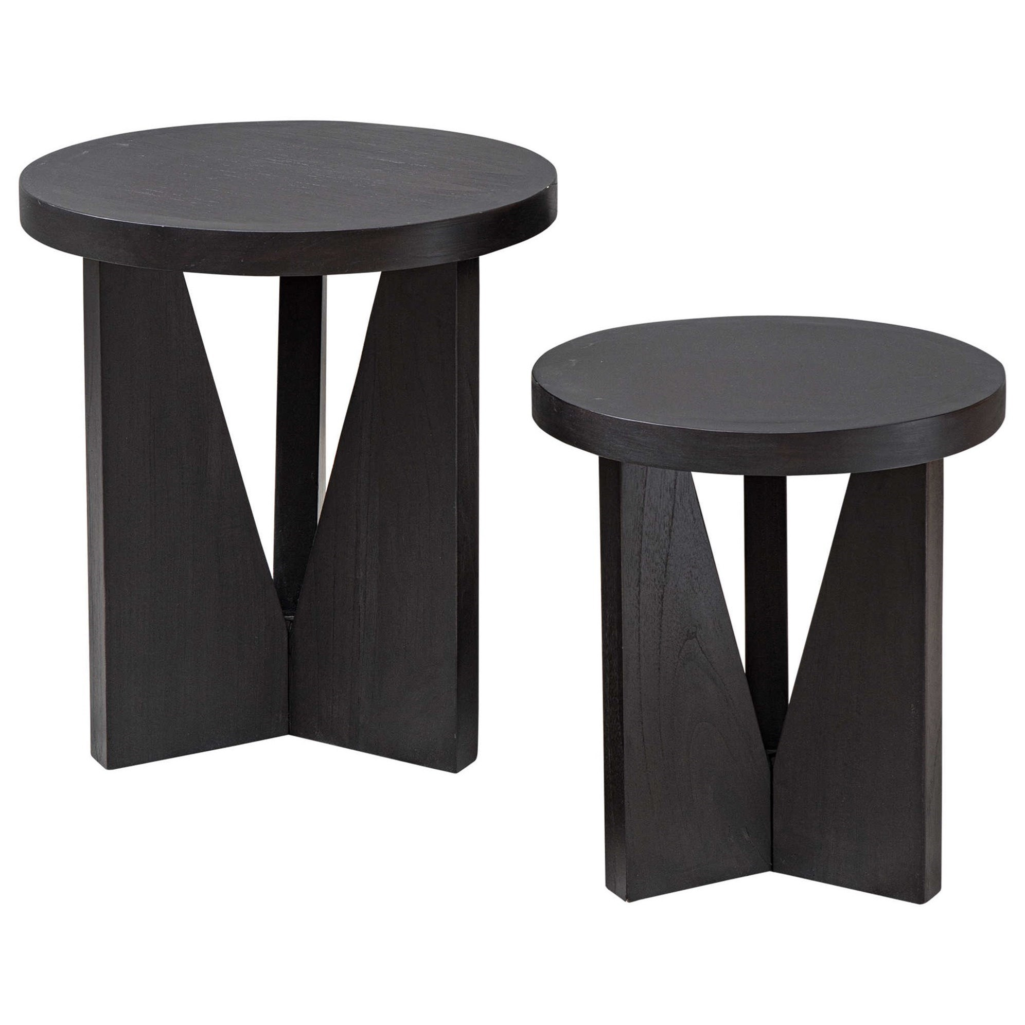Accent Furniture - Occasional Tables Nadette Nesting Tables, S/2 by Uttermost at Factory Direct Furniture