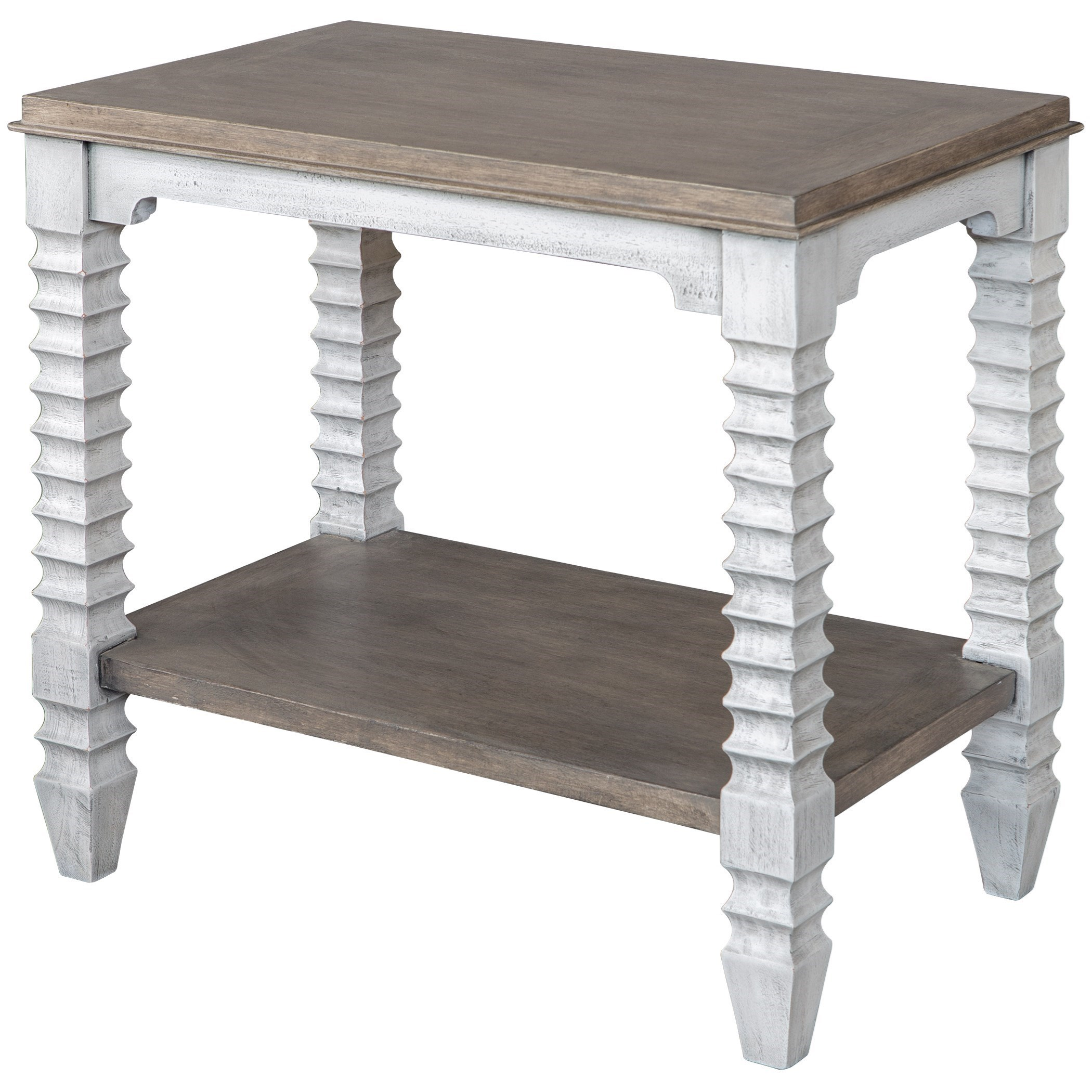 Accent Furniture - Occasional Tables Calypso Farmhouse Side Table by Uttermost at O'Dunk & O'Bright Furniture