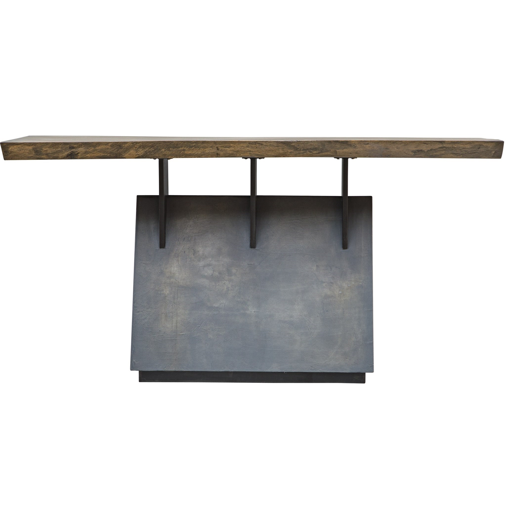 Accent Furniture - Occasional Tables Vessel Industrial Console Table by Uttermost at Factory Direct Furniture