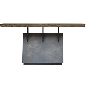 Vessel Industrial Console Table