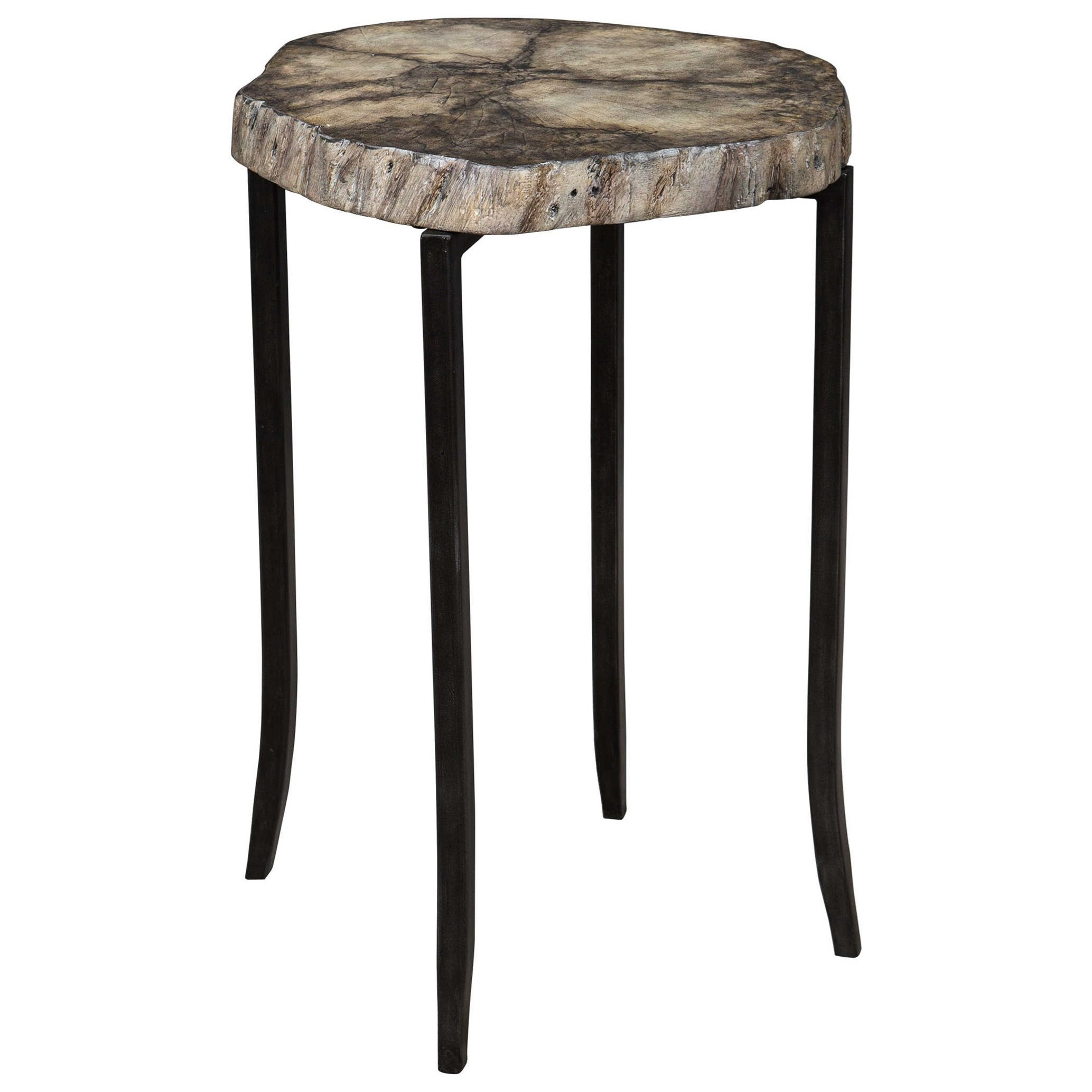 Accent Furniture - Occasional Tables Stiles Rustic Accent Table by Uttermost at Del Sol Furniture