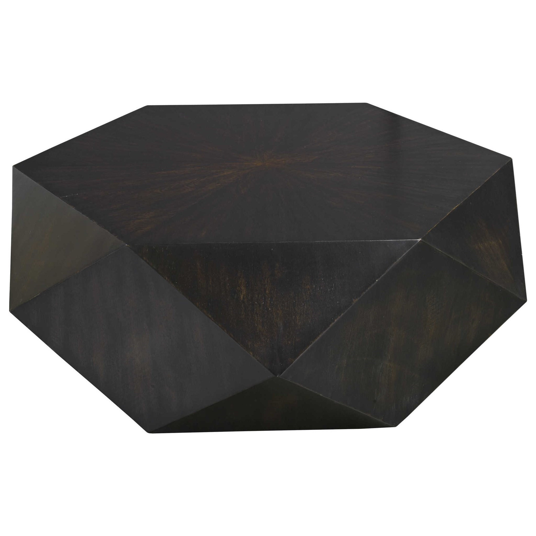 Accent Furniture - Occasional Tables Volker Small Black Coffee Table by Uttermost at Del Sol Furniture