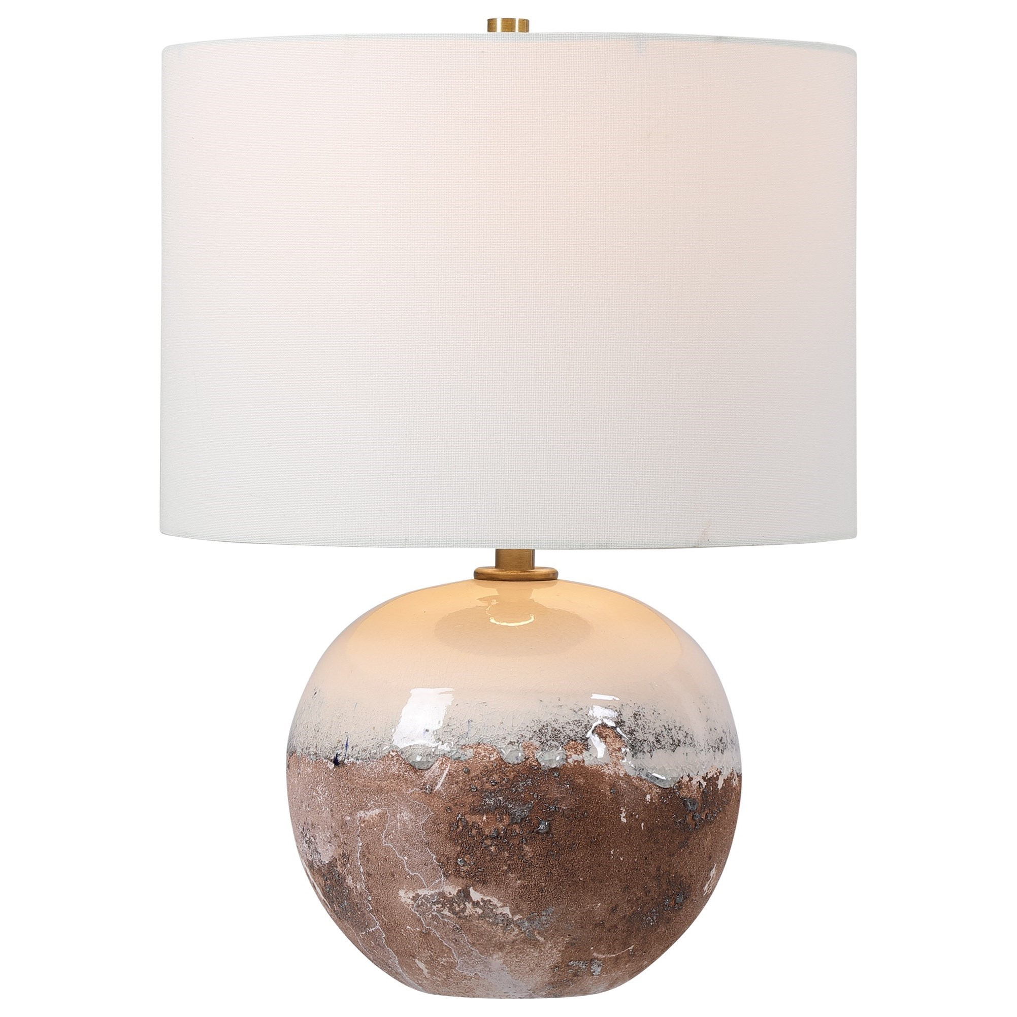 Accent Lamps Durango Terracotta Accent Lamp by Uttermost at Del Sol Furniture