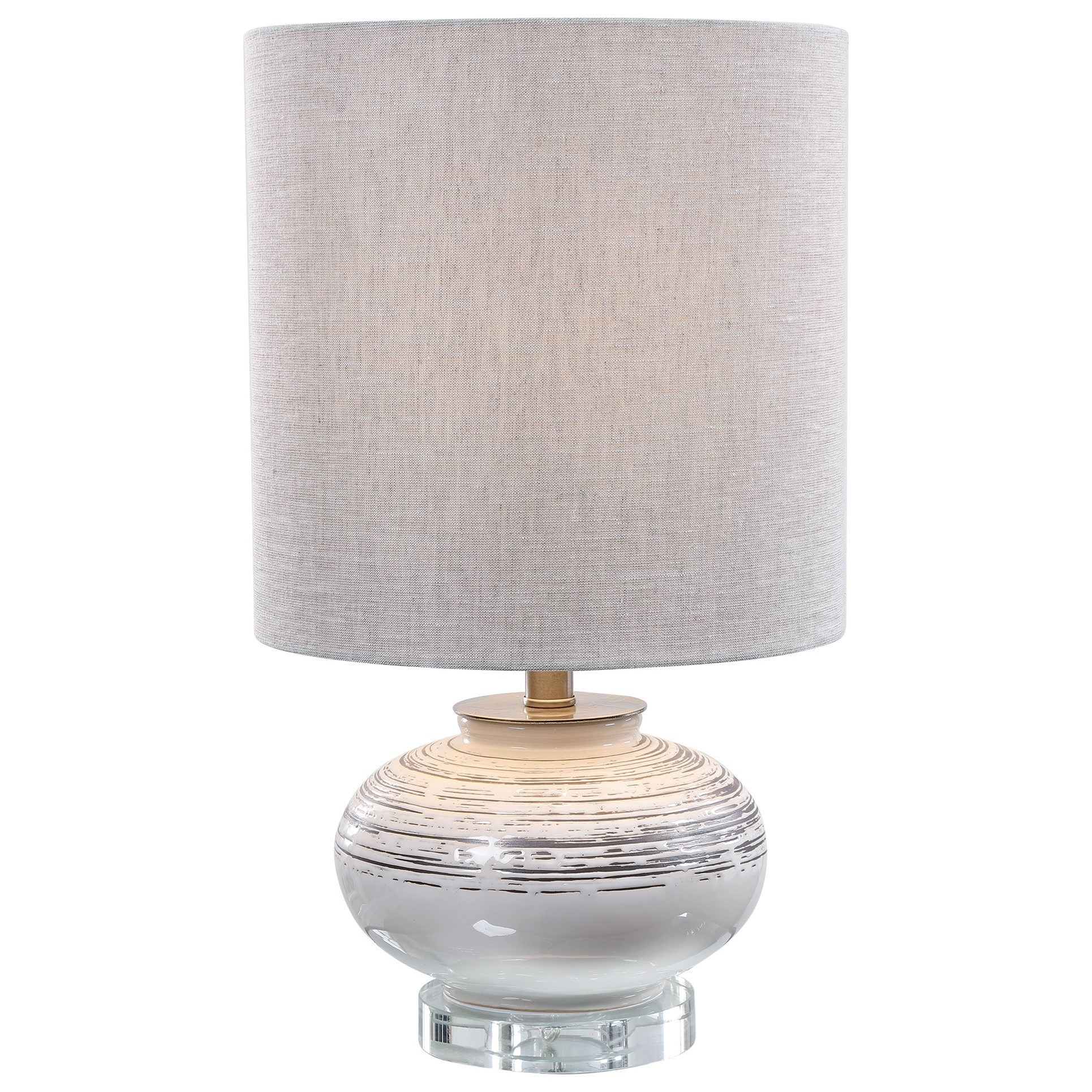 Accent Lamps Lenta Off-White Accent Lamp by Uttermost at Upper Room Home Furnishings