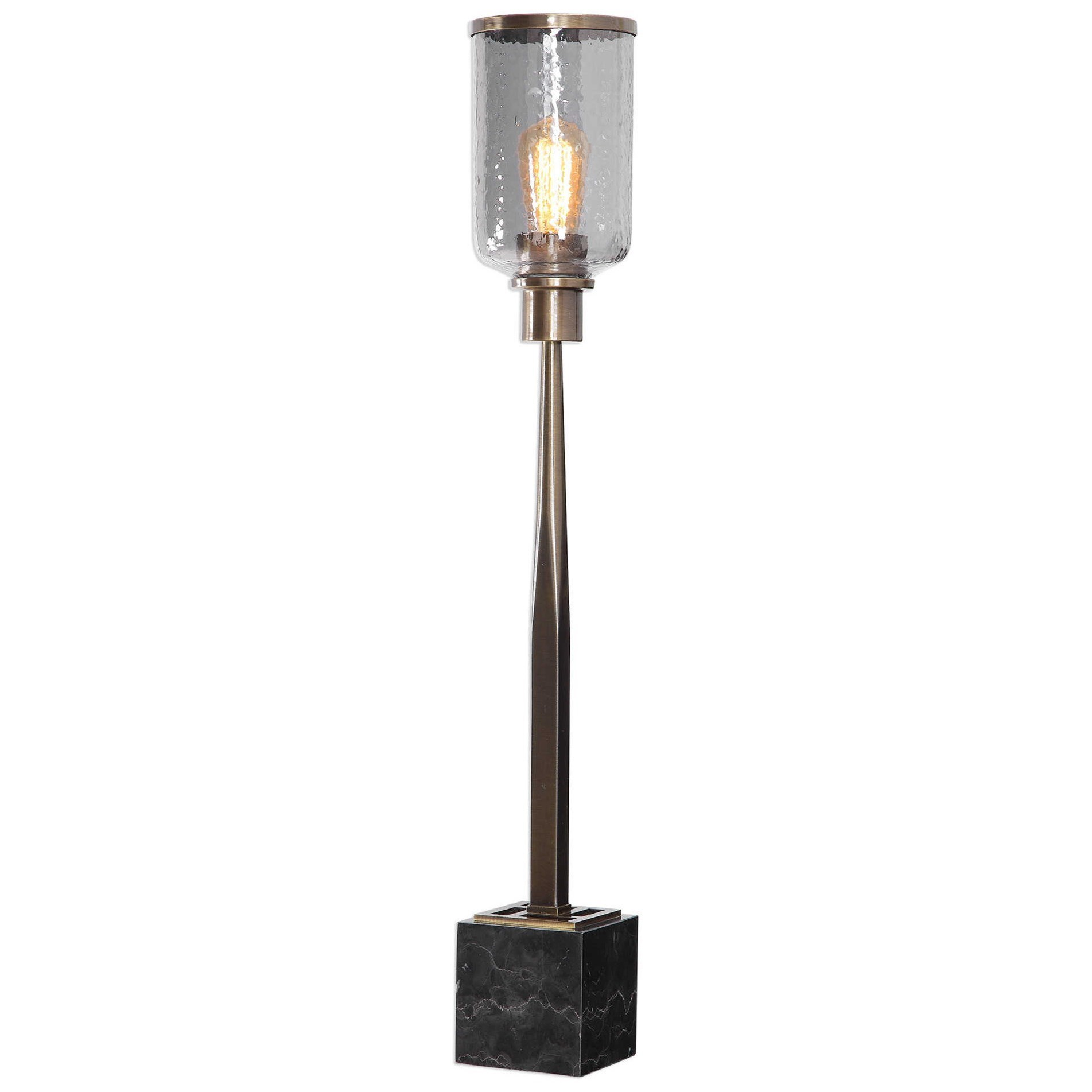 Accent Lamps Modern Accent Lamp by Uttermost at Upper Room Home Furnishings