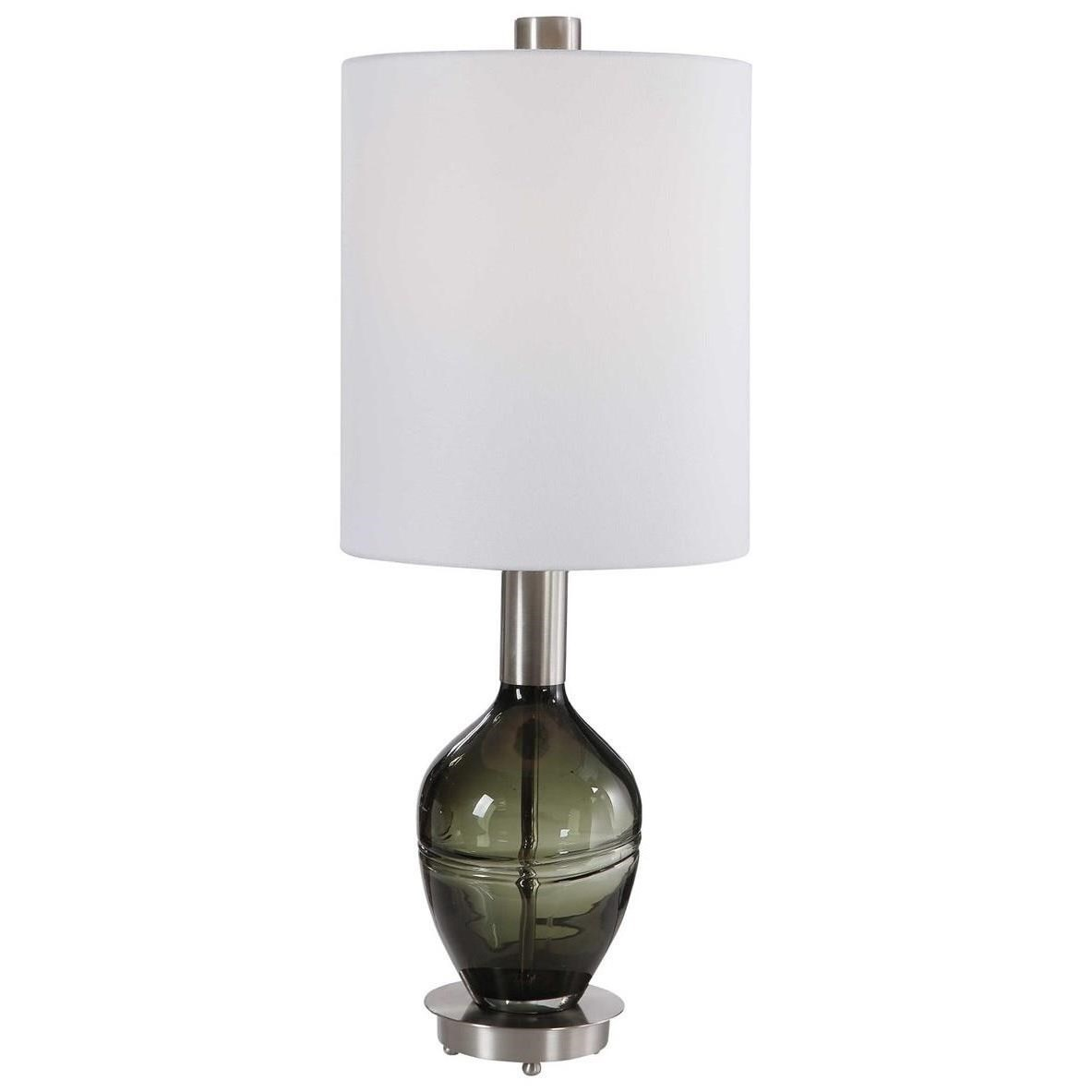 Accent Lamps Aderia Sage Green Accent Lamp by Uttermost at Sprintz Furniture