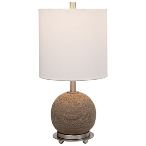 Captiva Rattan Accent Lamp