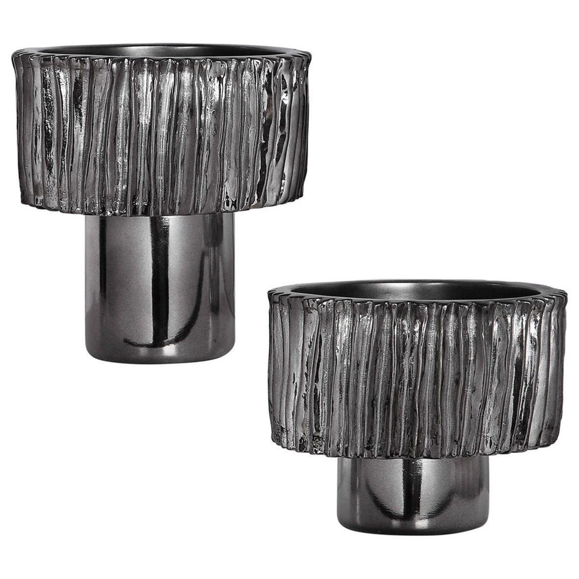 Zosia Nickel Bowls, Set/2