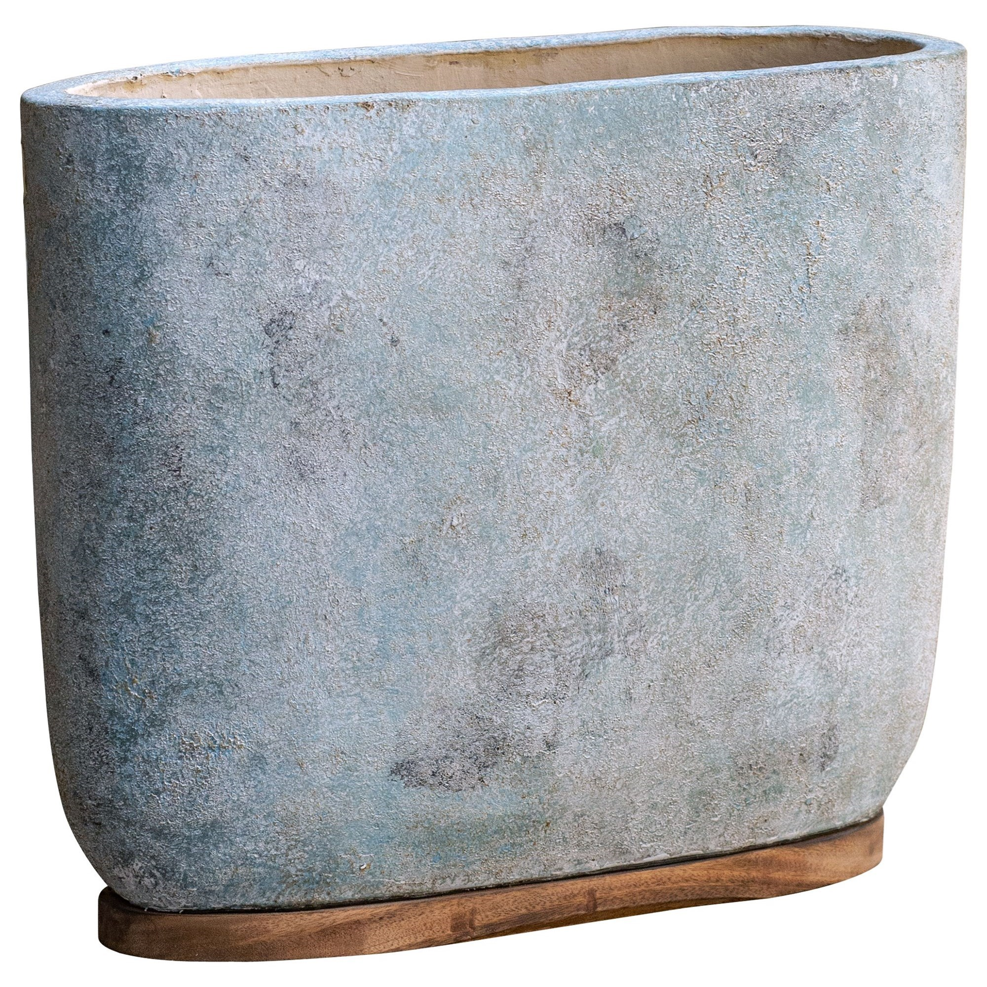 Accessories Menja Aged Bowl by Uttermost at Mueller Furniture