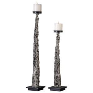 Tegal Candleholders (Set of 2)