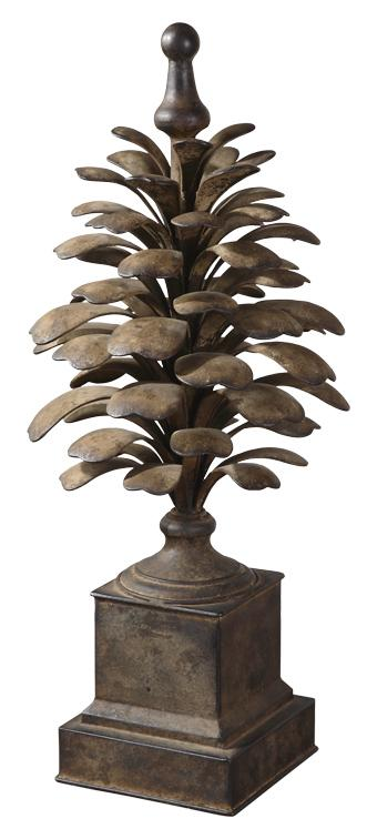 Accessories - Statues and Figurines Suzuha Finial by Uttermost at Mueller Furniture