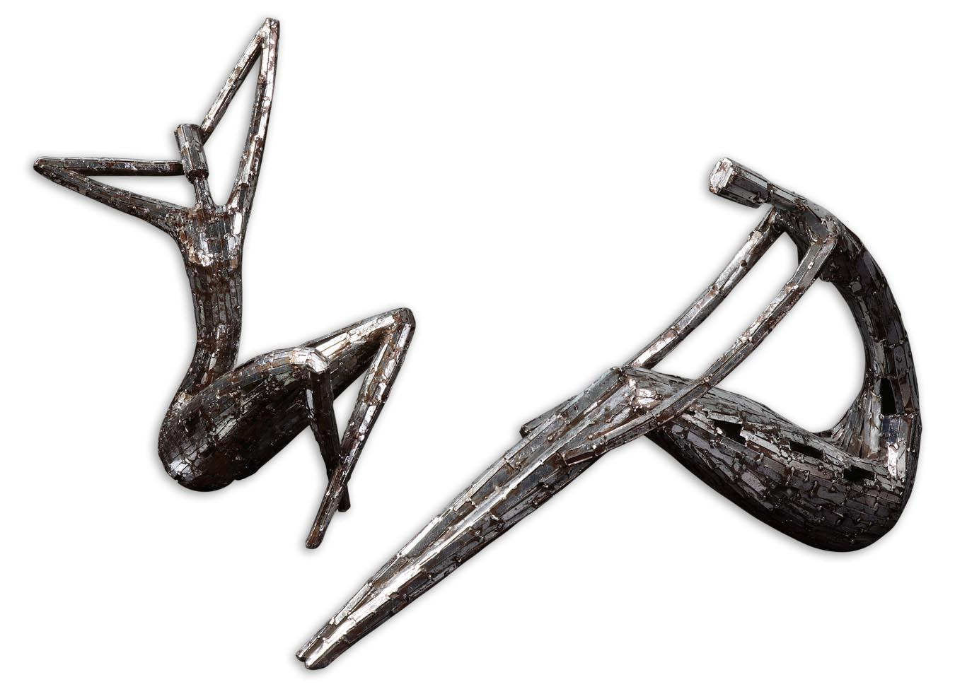 Accessories - Statues and Figurines Dahy Statues Set of 2 by Uttermost at Suburban Furniture