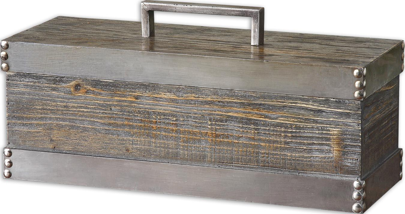 Accessories - Boxes Lican Box by Uttermost at Mueller Furniture