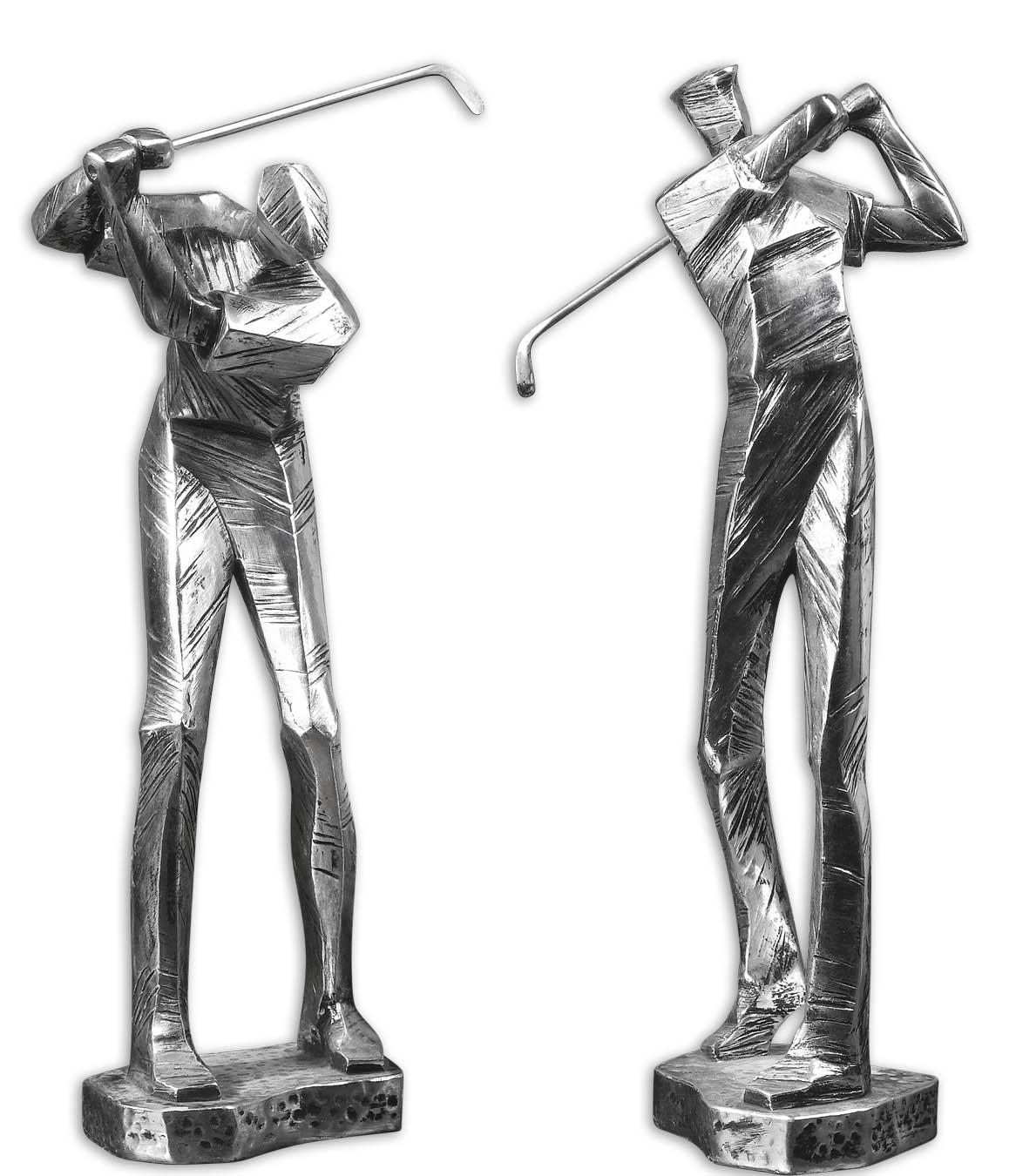 Accessories - Statues and Figurines Practice Shot Set of 2 by Uttermost at Mueller Furniture