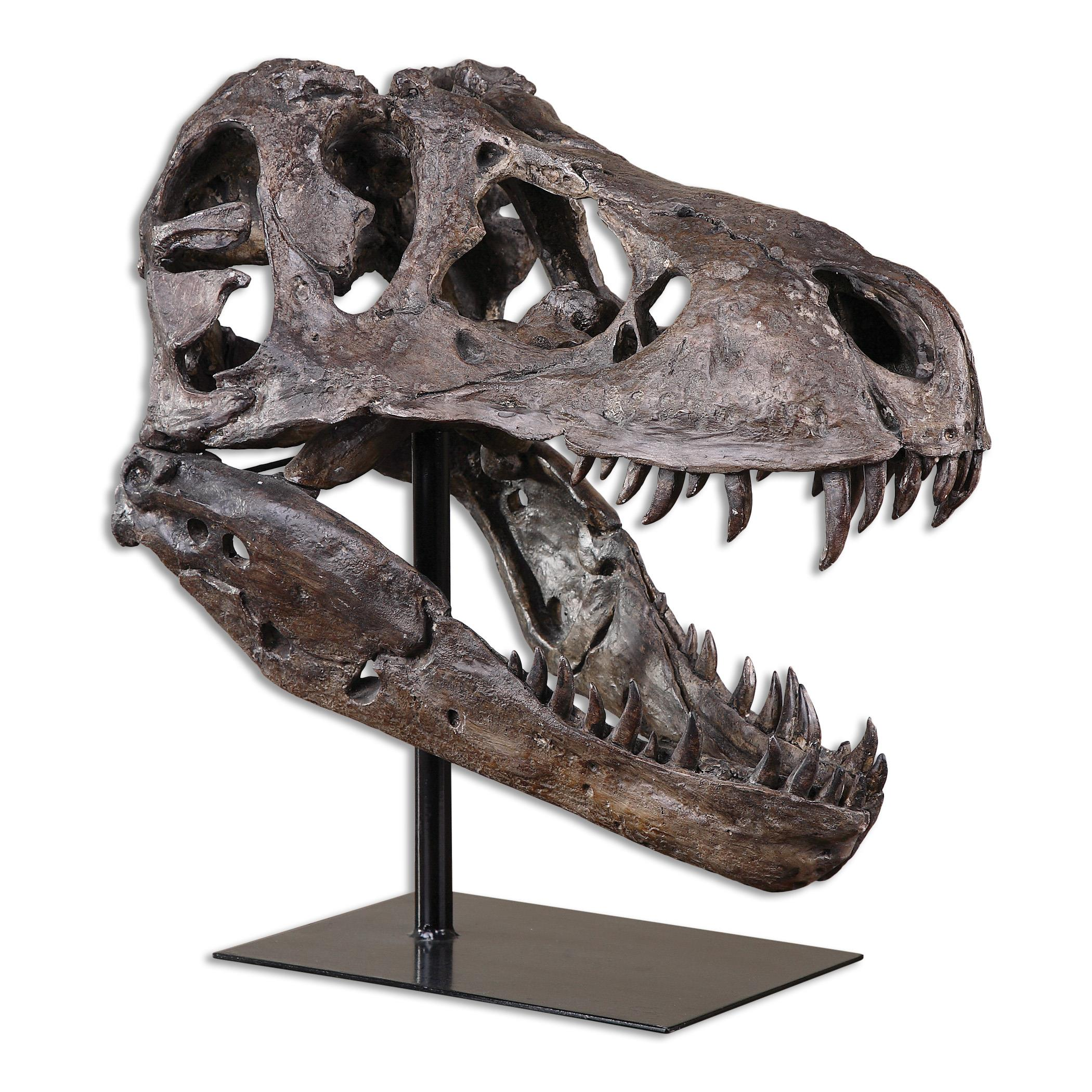 Accessories - Statues and Figurines Tyrannosaurus Sculpture by Uttermost at Mueller Furniture