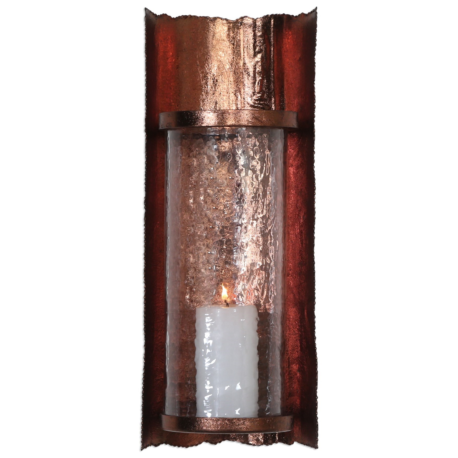 Accessories Goffredo Candle Wall Sconce by Uttermost at Upper Room Home Furnishings