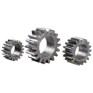 Gears Silver Sculpture S/3