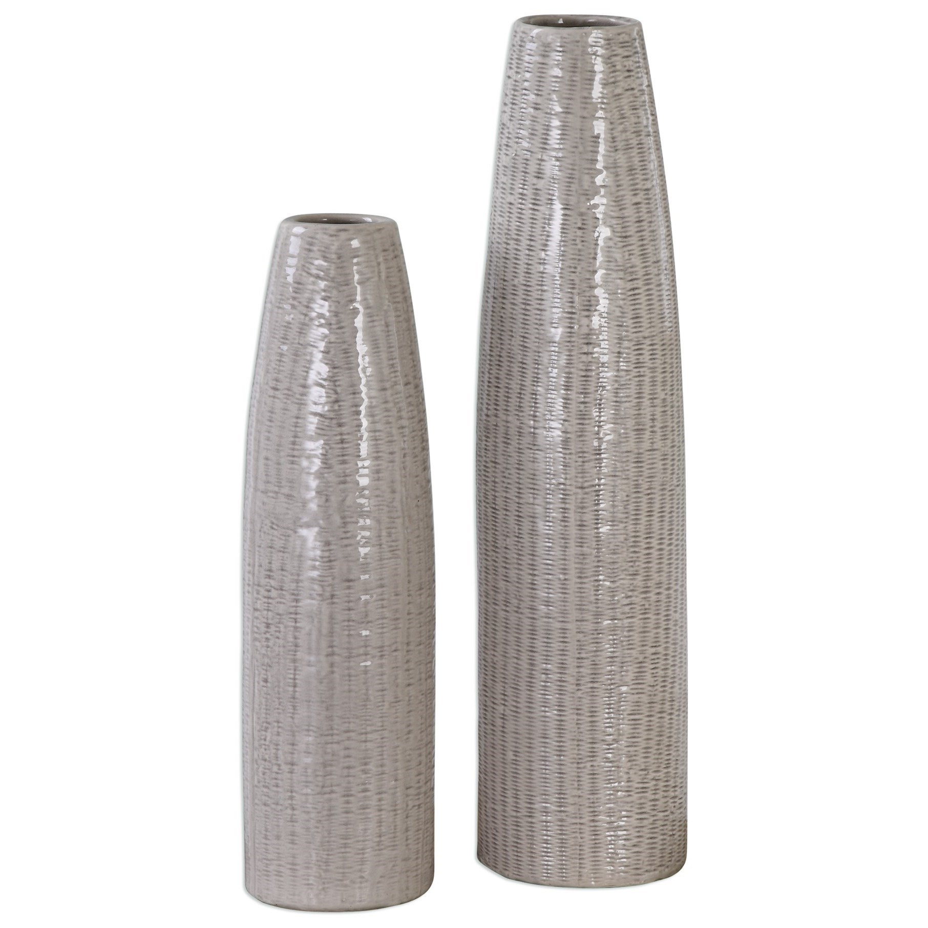 Accessories - Vases and Urns Sara Vases (Set of 2) by Uttermost at Mueller Furniture