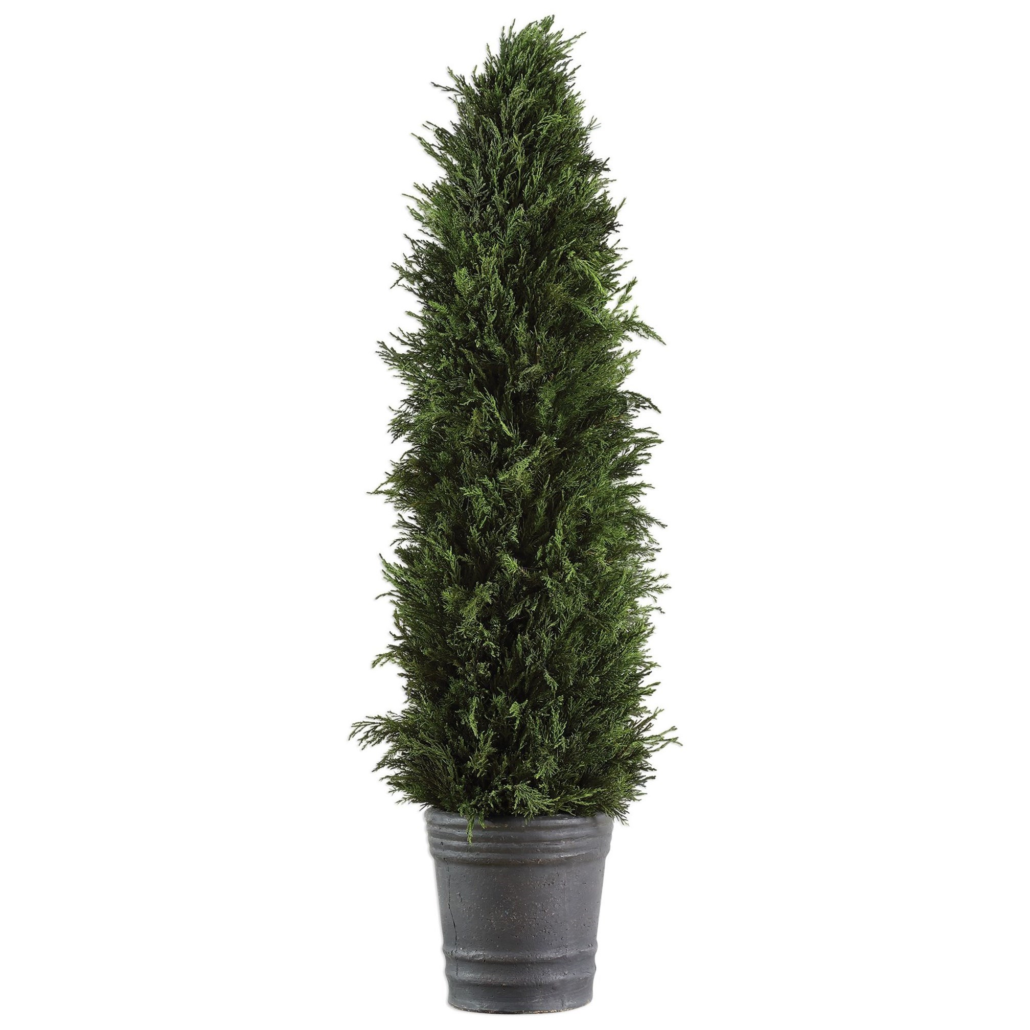 Accessories Cypress Cone Topiary by Uttermost at Mueller Furniture